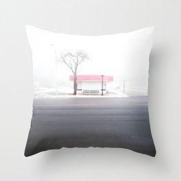 Frosty Freeze Throw Pillow