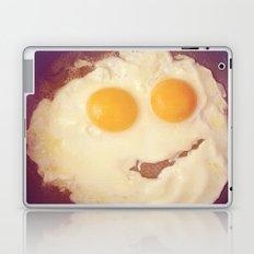 smiley egg Laptop & iPad Skin