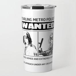 ARROW Wanted (Green Arrow,Spartan, Speedy,Black Canary) Travel Mug