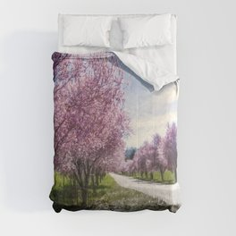 The Coming of Spring Comforters