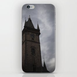 Mysterious Tower in Prague iPhone Skin