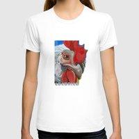 chicken T-shirts featuring Chicken by Jeanne Hollington
