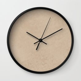 Pantone Hazelnut, Liquid Hues, Abstract Fluid Art Design Wall Clock