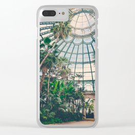 Royal Greenhouses III Clear iPhone Case