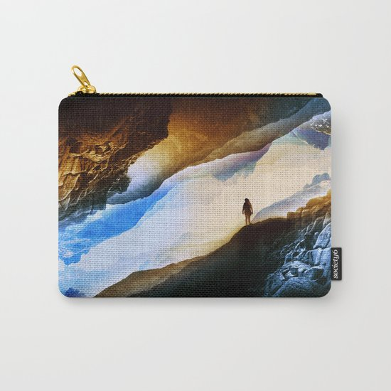 Vision of fire and ice Carry-All Pouch