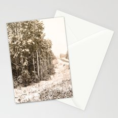 Winter Roadside Stationery Cards