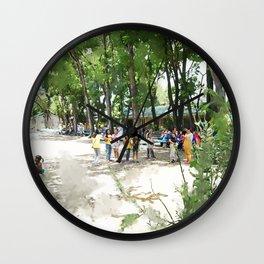 The Playground Wall Clock