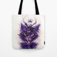 threeeyed cat Tote Bag