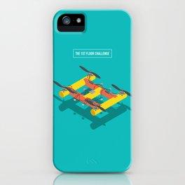 The 1st Floor Challenge iPhone Case