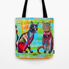 PURRFECT MATCH Tote Bag