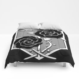 Attack on Titan Stationary Guard Comforters