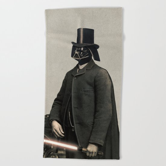 Lord Vadersworth  - square format Beach Towel