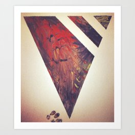 Tribal X Art Print