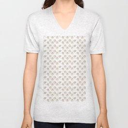 Hey pattern with girls Unisex V-Neck