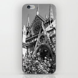 Blossoms, Spires and Gargoyles iPhone Skin