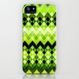 Emerald diamonds iPhone Case