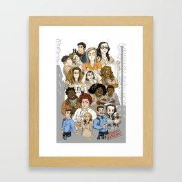 OITNB Fanart Framed Art Print