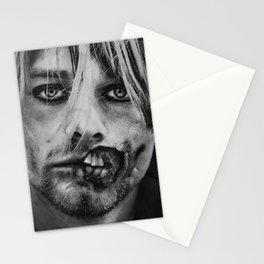 Cobain Zombie Stationery Cards