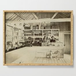 The General Store - Vintage Photo Serving Tray