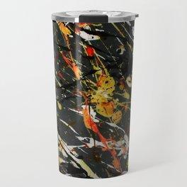 Jackson Pollock Interpretation 2017 Travel Mug