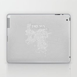 DRUMA Grey Laptop & iPad Skin