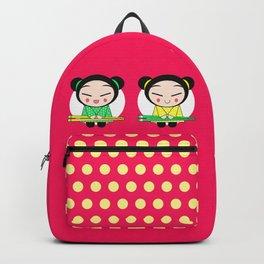 Funny Japanese Girls Backpack