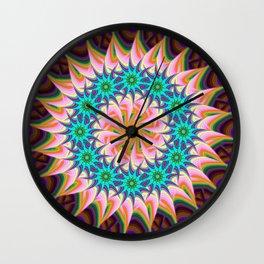Abstract VXV Wall Clock