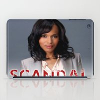 scandal iPad Cases featuring SCANDAL by I Love Decor