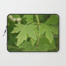 Amber Orientalis Leaves Laptop Sleeve