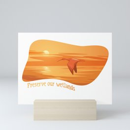 Preserve Wetlands Mini Art Print