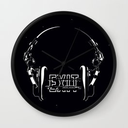Exit Strategy Wall Clock