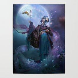 Moon Goddess Chang'e Poster
