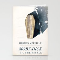 dick Stationery Cards featuring Moby-Dick by Chad Gowey