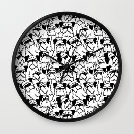 Oh Schnauzer Wall Clock