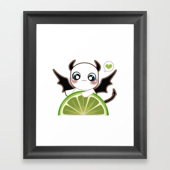 Kawaii Monster  Framed Art Print