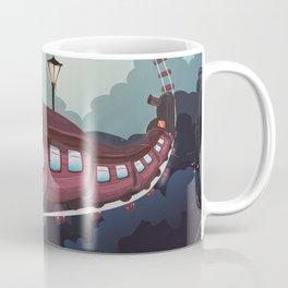 Train to the Moon Coffee Mug