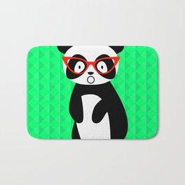 shocked panda Bath Mat