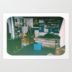 bedroom Art Print