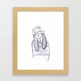 conversation 8 Framed Art Print
