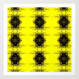 Mustard Seed Pattern Art Print