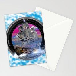 El mundo del mar fotografia Stationery Cards