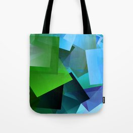 Leaves and light ... Tote Bag