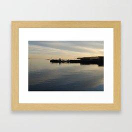 Millport Pier Framed Art Print