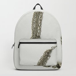 Mongolian silver necklace Backpack