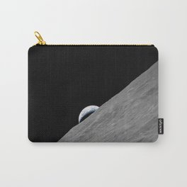Apollo 17 - Crescent Moon Carry-All Pouch