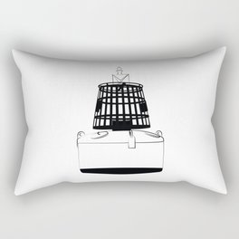 Buoy - boei - marine - sailors Rectangular Pillow