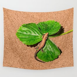 I am busy, I am tanning Wall Tapestry