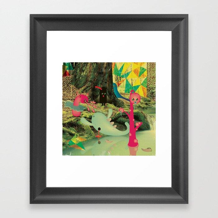 è_DurA_La_ViTA_dei_MostRI Framed Art Print