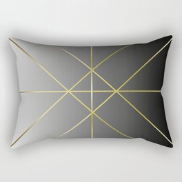 Patience is Gold Rectangular Pillow