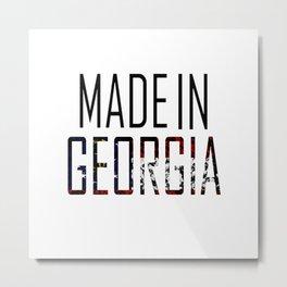 Made In Georgia Metal Print